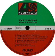 Average White Band  - Soul Searching (LP, Album) (gebraucht VG)