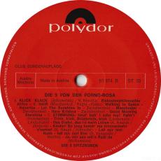 Die 3 Spitzbuben - Die 3 Von Der Porno-Rosa (LP, Club Ed.) (gebraucht G+)
