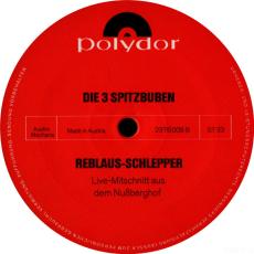 Die 3 Spitzbuben - Reblaus Schlepper (LP, Album) (gebraucht G-)