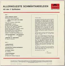 Die 3 Spitzbuam - Allerneuerste Schmähtandeleien (LP, Album) (gebraucht VG)