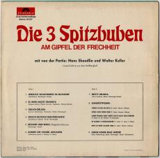 Die 3 Spitzbuam - Am Gipfel der Frechheit (LP, Club Ed.) (gebraucht G+)