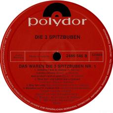 Die 3 Spitzbuben - Das Waren Die 3 Spitzbuben 1 (LP, Vinyl) (gebraucht G+)