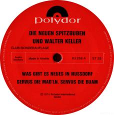 Die Neuen Spitzbuben - Was Gibt Es Neues In Nußdorf (LP, Club Ed.) (gebraucht G+)