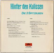 Die 3 Spitzbuben - Hinter den Kulissen (LP, Club Ed.) (gebraucht VG)