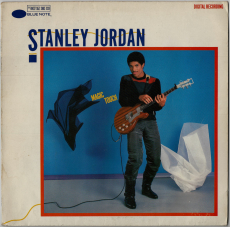 Stanley Jordan - Magic Touch (LP, Album) (gebraucht VG-)