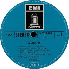 Beatles - Beatles 65 (LP, Album, Vinyl, Reissue) (gebraucht)