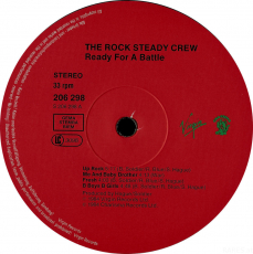The Rock Steady Crew - Ready For Battle (LP, Album) (gebraucht G)