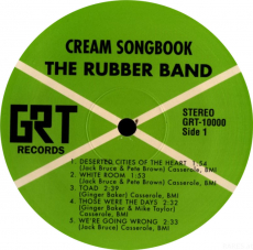 The Rubber Band - Cream Songbook (LP, Album) (used VG)