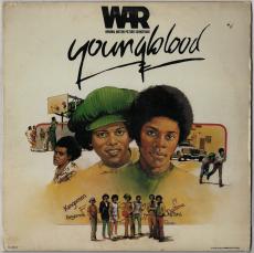 WAR - Youngblood (Original Motion Picture Soundtrack) (LP, Album) (gebraucht G+)
