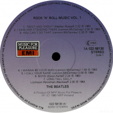 Beatles - Rock n Roll Music Vol. 1 (LP, Comp., Vinyl) (gebraucht VG)
