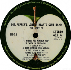Beatles - Sgt. Peppers Lonely Hearts Club Band (LP, Japan, Gat.) (gebraucht VG)