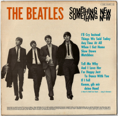 Beatles - Something New (LP, Album) (gebraucht VG-)