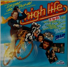 VARIOUS - High Life - Da Geht Die Post Ab! (2xLP, Comp) (gebraucht)