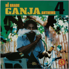 VARIOUS - Hi Grade Ganja Anthems 4 (Green Coloured LP, Compilation) (gebraucht)