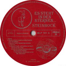 VARIOUS - Es Steht In Den Sternen.... So Ist Der Steinbock (LP, Comp.) (gebraucht)