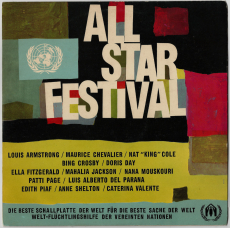 VARIOUS - All-Star Festival (LP, Album) (gebraucht VG)