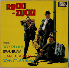 VARIOUS - RUCKI-ZUCKI (Spitzbuam, Brau-Buam,..) (LP, Comp.) (gebraucht)
