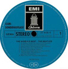 Beatles - The Worlds Bests (LP, Sonderauflage) (gebraucht VG+/G)