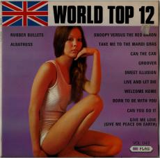 UNBEKANNTE Künstler - World Top 12 Vol. 43 (LP, Comp.) (gebraucht)