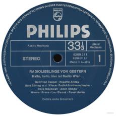 VARIOUS - Radiolieblinge von gestern (2LP-Box) (gebraucht VG)