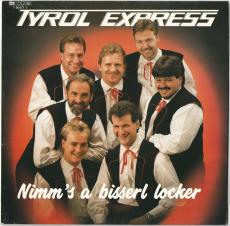 Tyrol Express - Nimms a bisserl locker (LP, Album) (gebraucht VG)