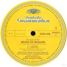 Giuseppe Verdi / Herbert Von Karajan / Berliner Philharmoniker - Messa Da Requiem (2LP, Vinyl) (gebraucht VG)
