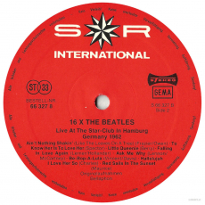 Beatles - 16 X The Beatles (LP, Comp.) (gebraucht VG-)
