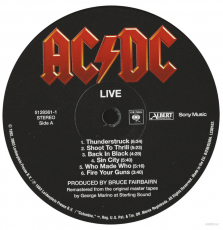 AC/DC - Live (2xLP, Special Collectors Ed.) (gebraucht NM)