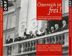 Österreich ist frei! Das Wunder Staatsvertrag (4 CDs, Hörbuch, Radiodokumente) (gebraucht VG+)