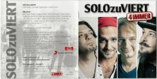 SOLOzuVIERT - 4immer (CD, Digipak) (gebraucht VG+)