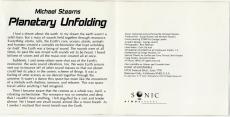 Michael Stearns - Planetary Unfolding (CD, Album, Sanyo Japan) (gebraucht VG-)