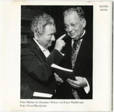 Fritz Muliar - Überwiegend heiter (CD, Album, signiert) (gebraucht VG+)
