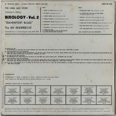 Bix Beiderbecke - Bixology Davenport Blues (LP, Comp.) (gebraucht G+)
