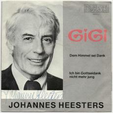 Johannes Heesters - Gigi (Single, 7, Autogramm) (gebraucht VG)