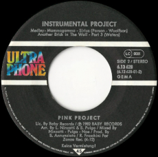 Pink Project - Disco Project (Vinyl, 7) (gebraucht VG)