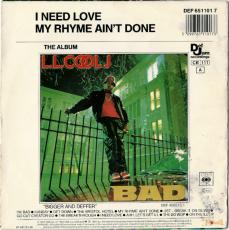 LL Cool J - I Need Love (Vinyl, 7) (gebraucht G)