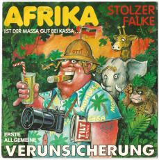EAV Erste Allgemeine Verunsicherung - Afrika (Vinyl, 7) (gebraucht G+)