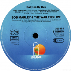 Bob Marley & The Wailers - Babylon By Bus (2 LP, Album) (gebraucht)