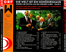 Kirchschlager/Berry/Zednik - Die Welt ist ein Komödienhaus Folge 8 (CD, Album) (gebraucht VG+)