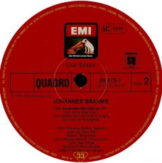 Brahms: Ein deutsches Requiem (2LP, Quadro) (gebraucht VG)