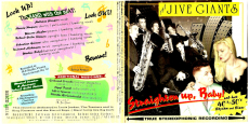 The Jive Giants - Straighten Up, Baby! (CD, Album) (gebraucht VG)
