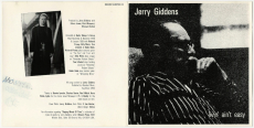 Jerry Giddens - Livin Aint Easy (CD, Album) (gebraucht VG+)
