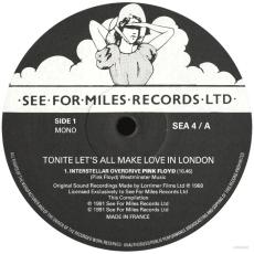 Pink Floyd - Tonite Lets All Make Make Love In London...Plus (LP, Sampler) (gebraucht VG)