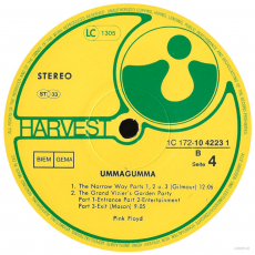 Pink Floyd - Ummagumma (2LP, Album) (gebraucht VG)
