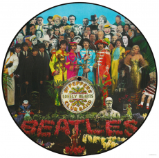 The Beatles - Sgt. Peppers Lonely Hearts Club Band (LP, Picture Disc) (gebraucht NM)