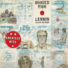 John Lennon & The Plastic Ono Band - Shaved Fish (LP, Album) (gebraucht VG-)