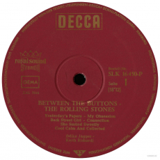 The Rolling Stones - Between The Buttons (LP, Album) (gebraucht G)