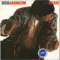 Steve Arrington - Jam Packed (LP, Album) (gebraucht VG+)