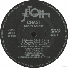 Charly Antolini - Crash (LP, Direct-To-Disc) (used VG)