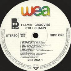 The Flamin Groovies - Still Shakin (LP, Album) (gebraucht G)